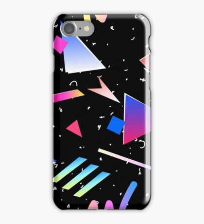1980s Memphis Pattern iPhone Cover