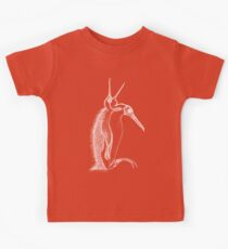 Scary penguin- white Kids Clothes