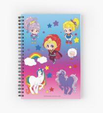 Rainbow brite Spiral Notebook