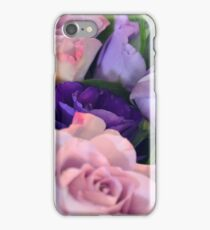 Purple and pink roses closeup  iPhone Case/Skin
