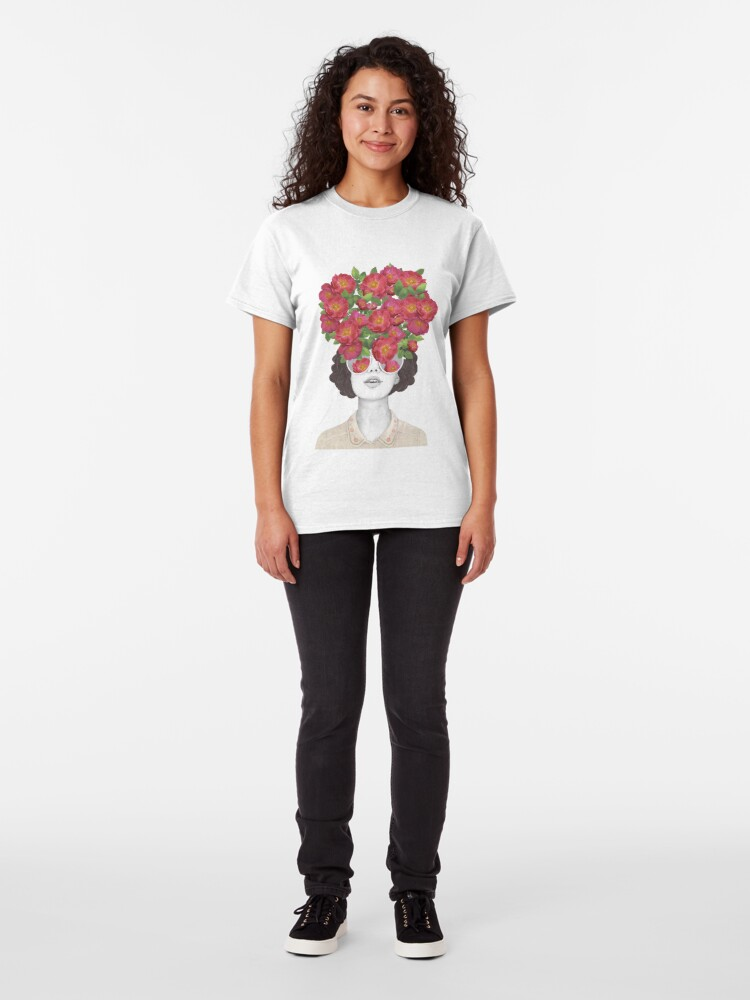 Alternate view of The optimist // rose tinted glasses Classic T-Shirt