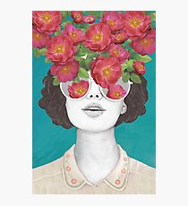 The optimist // rose tinted glasses Photographic Print