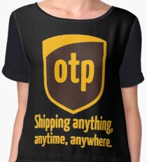 OTP - shipping anything, anytime, anywhere Women's Chiffon Top