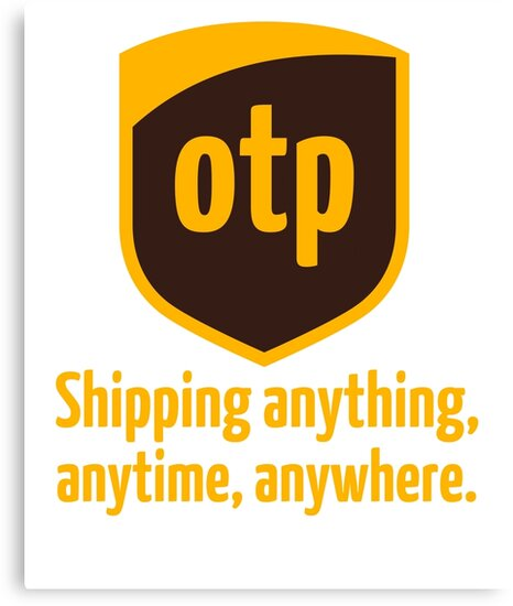OTP - shipping anything, anytime, anywhere by jasonhoffman