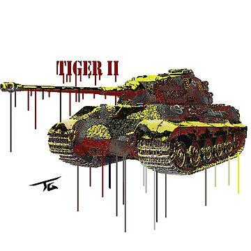 Tiger II by Skyrimjoe