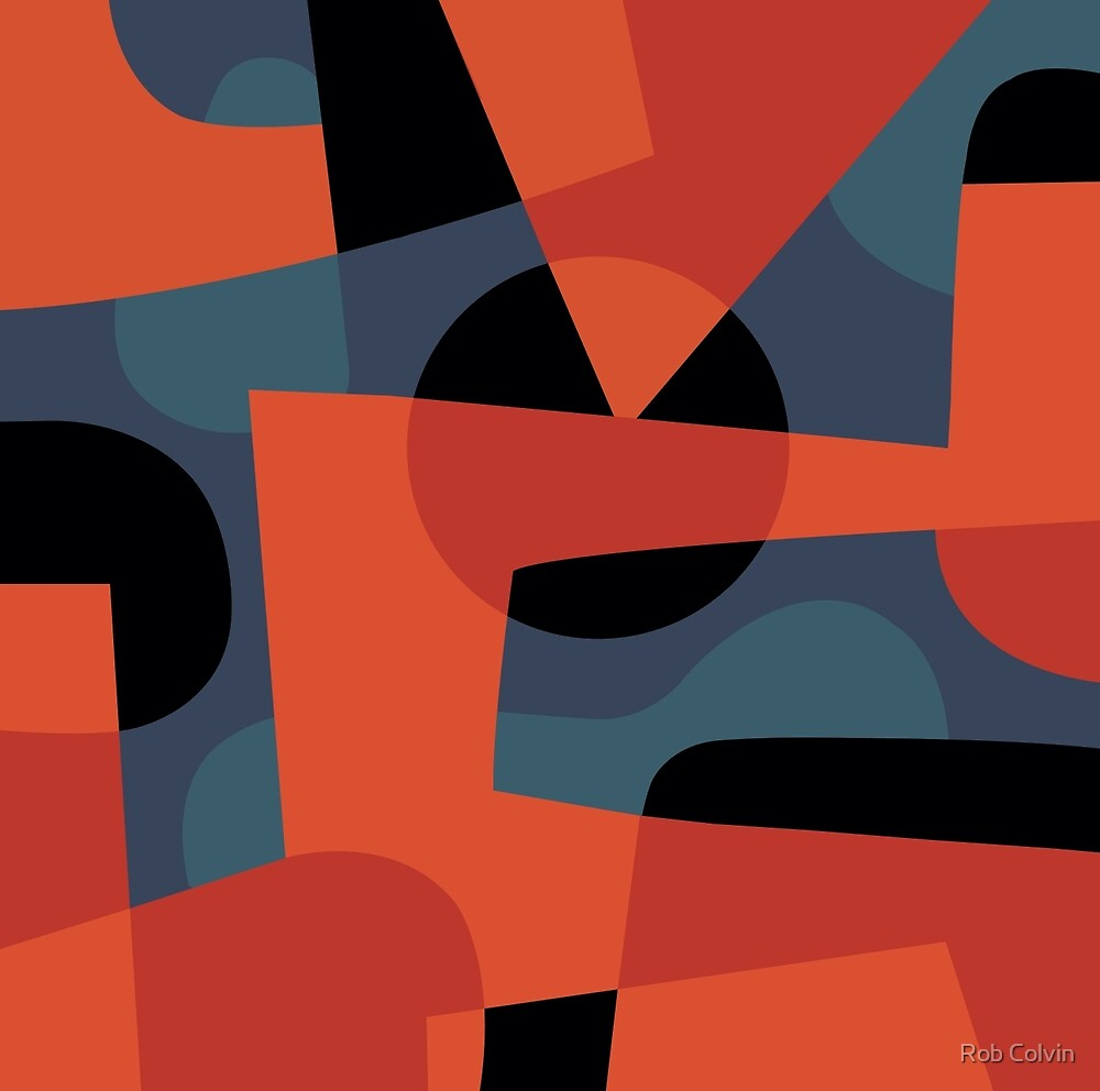 Abstract XXXIX by Rob Colvin