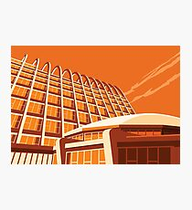 Toast Rack and Fried Egg, Manchester Polytechnic Photographic Print