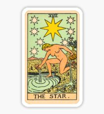 Tarot - The star Sticker