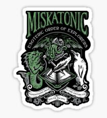 Miskatonic Esoteric Order of Explorers Sticker