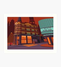 Cornerhouse, Manchester Art Print