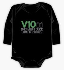 V10 - Only milk & juice come in 2 litres (3) One Piece - Long Sleeve