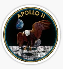 Apollo 11 grunge | space Sticker
