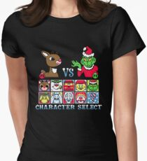 Christmas Fighter Women's Fitted T-Shirt