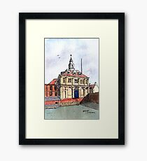Kings Lynn Customs House - Watercolour Framed Print