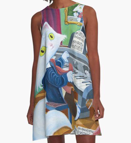 Ludwig van Caathoven A-Line Dress