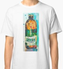 Genesee Cream Ale Beer Art Print - Original Watercolor  Classic T-Shirt