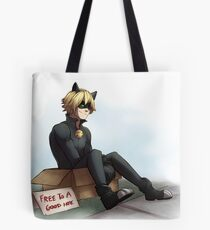 Cat Noir: Free To A Good Home Tote Bag