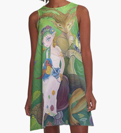 Titania and Oberon A-Line Dress