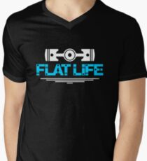 Flat Life (1) Men's V-Neck T-Shirt