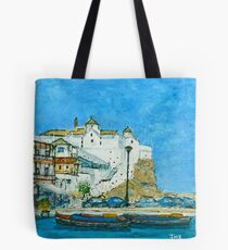 The White Church, Skopelos Tote Bag