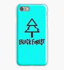 Black Forest - Glitch iPhone Case/Skin