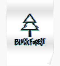 Black Forest - Glitch Poster