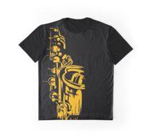 Saxophone Keywork Graphic T-Shirt