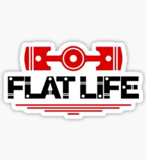 Flat Life (5) Sticker