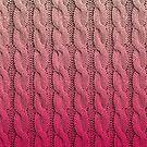 Flamingo Sunset Chunky Knit by BadBehaviour
