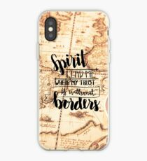 Spirit Lead Me Where My Trust Is Without Borders iPhone Case