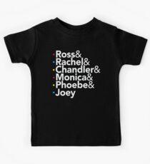 Friends TV Show Helvetica Kids Clothes