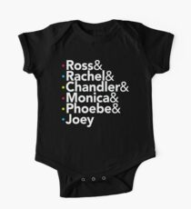 Friends TV Show Helvetica Kids Clothes