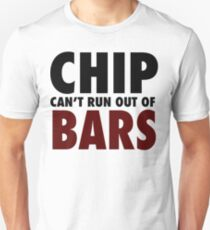 CHIP CAN'T RUN OUT OF BARS - GRIME T-Shirt