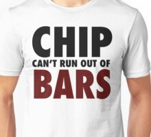 CHIP CAN'T RUN OUT OF BARS - GRIME Unisex T-Shirt