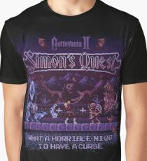 Simon's Vania Castle Quest Graphic T-Shirt