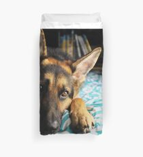 Cinnamon German Shepard 1 Duvet Cover