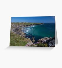 Azure blue, my favourite colour! Greeting Card