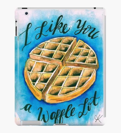 Waffle  iPad Case/Skin