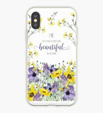 He Hath Made Everything Beautiful iPhone Case