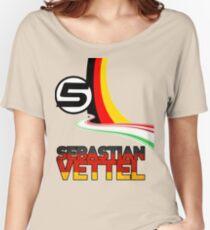 Sebastian Vettel - 5 - Germany Women's Relaxed Fit T-Shirt