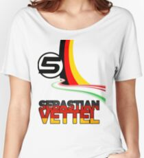 Sebastian Vettel - 5 - Germany Women's Relaxed Fit T-Shirt