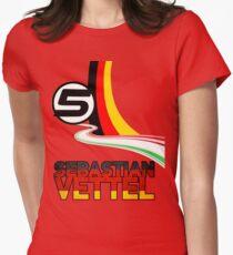 Sebastian Vettel - 5 - Germany Women's Fitted T-Shirt
