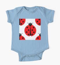 Seamles Ladybug One Piece - Short Sleeve
