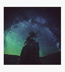 Lonely Island Photographic Print