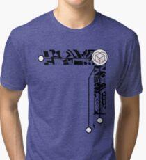 <3 box Tri-blend T-Shirt