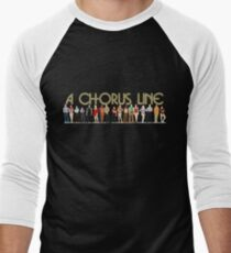 A Chorus Line Men's Baseball ¾ T-Shirt