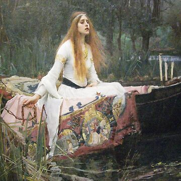 Waterhouse - The Lady of Shalott by carpediem6655