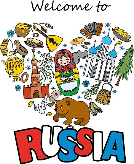 welcome to russia russian symbols travel russia by naum100