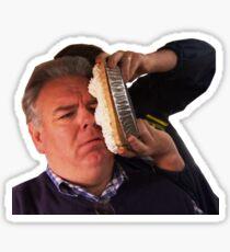 Jerry Gergich - Pie in Face Sticker
