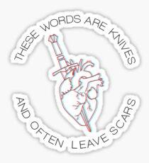 This Is Gospel - weiß Version Sticker